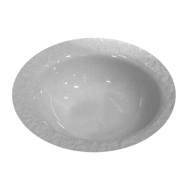 Güral Porselen Çiçek Desenli Kase - 16 cm