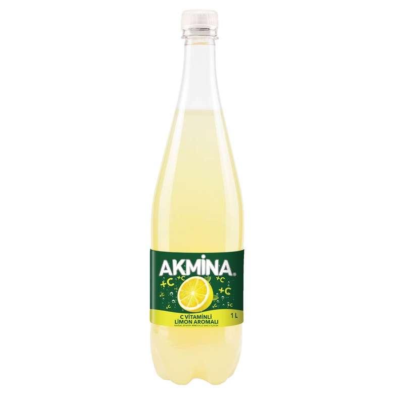 Akmina Maden Suyu C Vitaminli Limon Aromalı 1 L