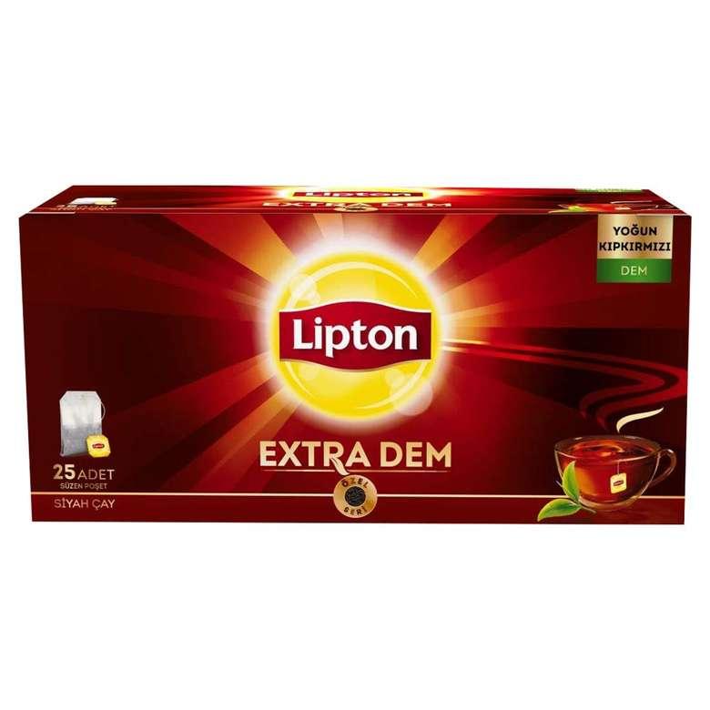 Lipton Çay Bardak Poşet Extra Dem 25 X 2 G