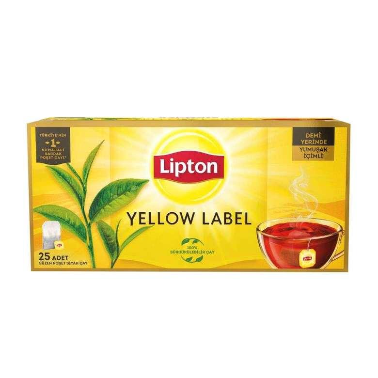 Lipton Çay Bardak Poşet Yellow Label 25 X 2 G