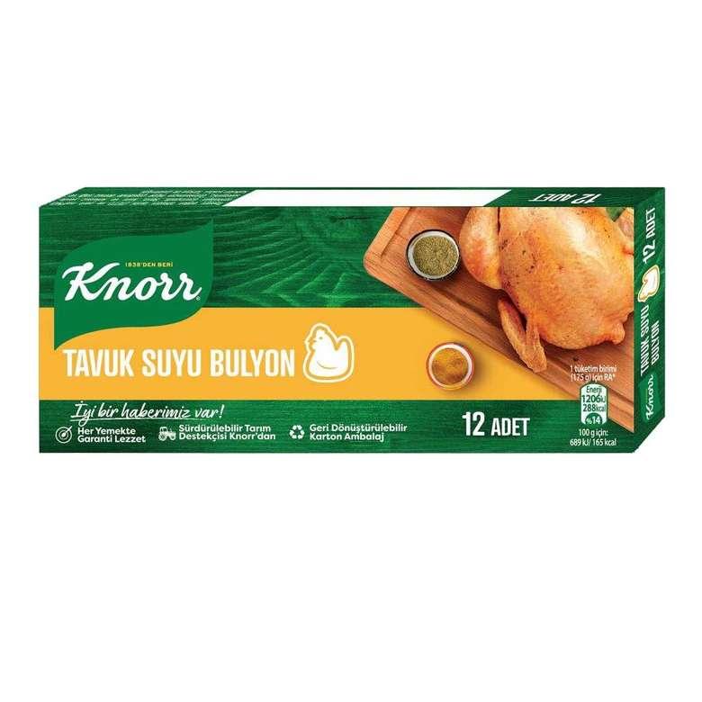Knorr Tavuk Suyu Bulyon  12'li
