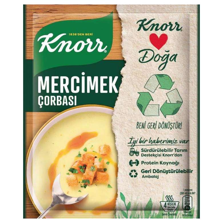 Knorr Çorba Mercimek 65 G