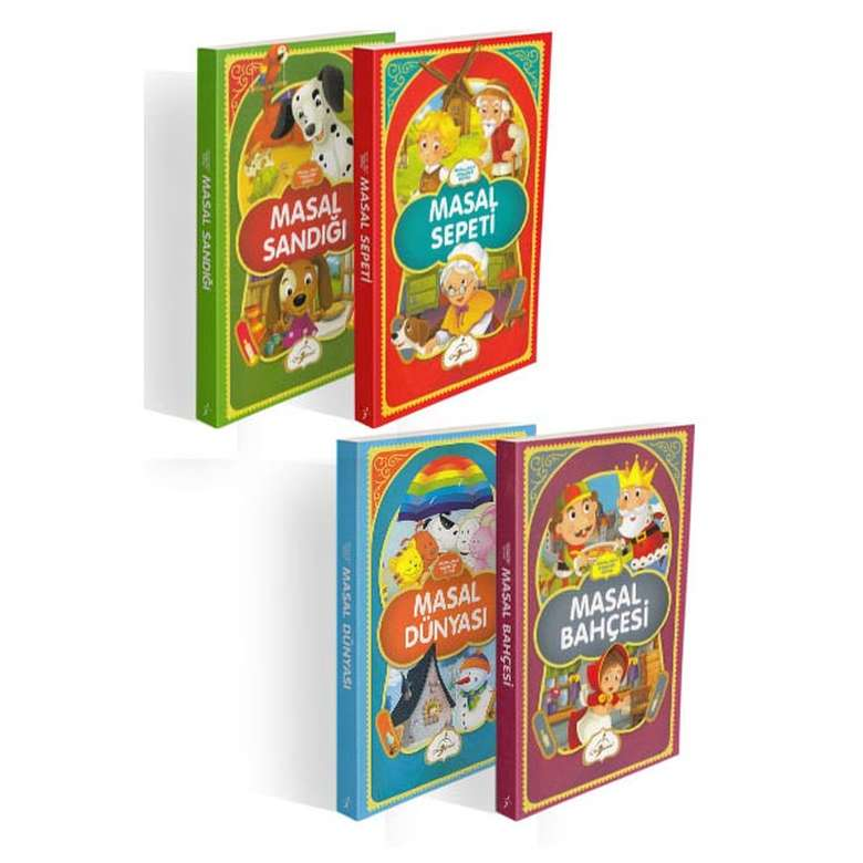 Masallarla Karakter Eğitimi Seti - 4 Kitap