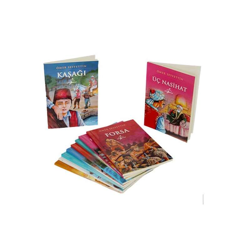 Ömer Seyfettin Dizisi - 10 Kitap