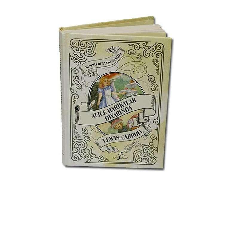 Alice Harikalar Diyarında - Çocuk Klasikleri - Ciltli