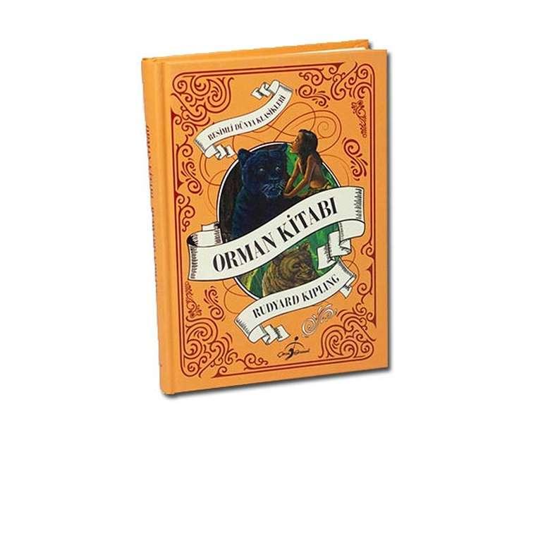 Orman Kitabı - Çocuk Klasikleri - Ciltli