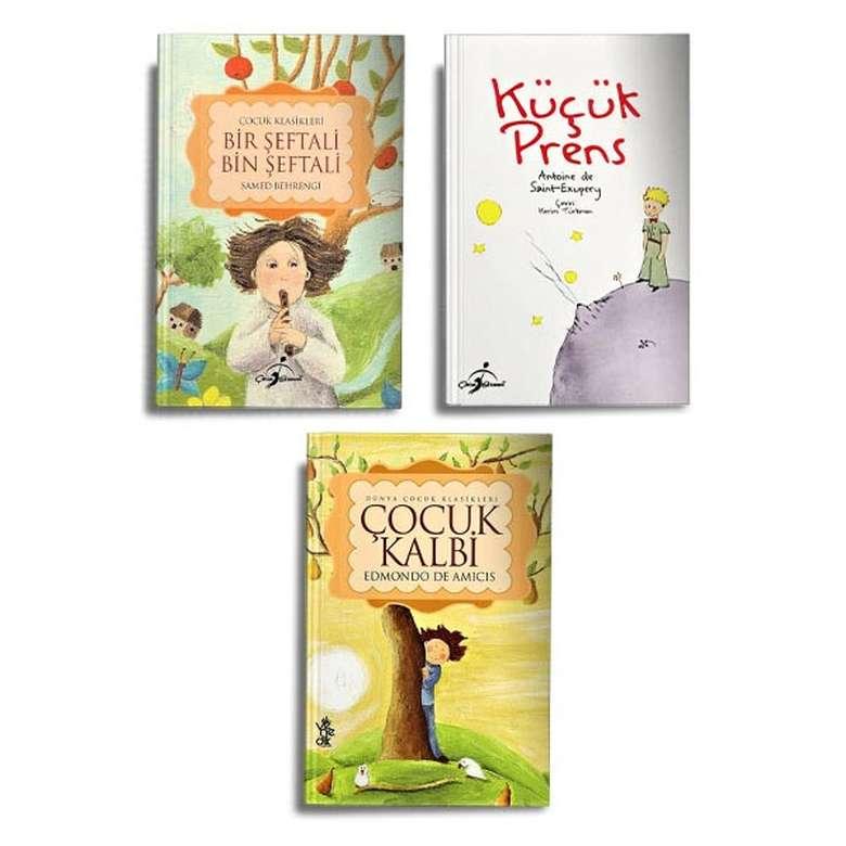Çocuk Klasikleri - 3 Kitap
