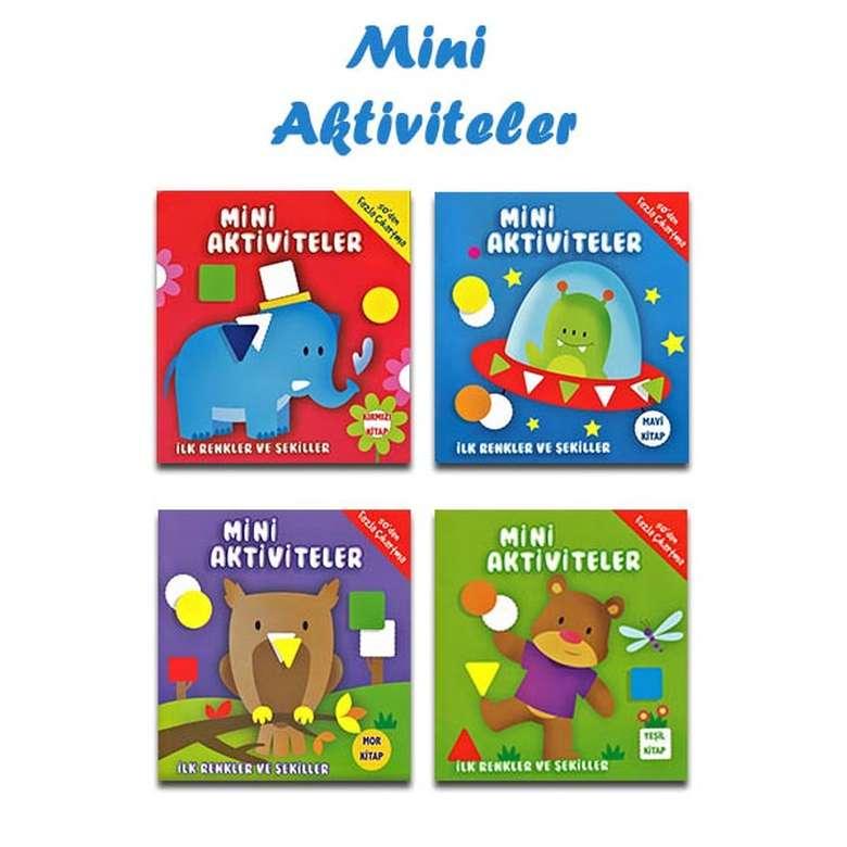 Mini Aktiviteler İlk Renkler Ve Şekiller