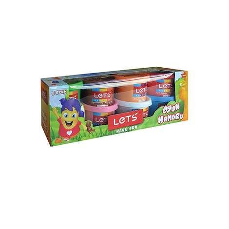 Lets 8 Renk Oyun Hamuru - L8348