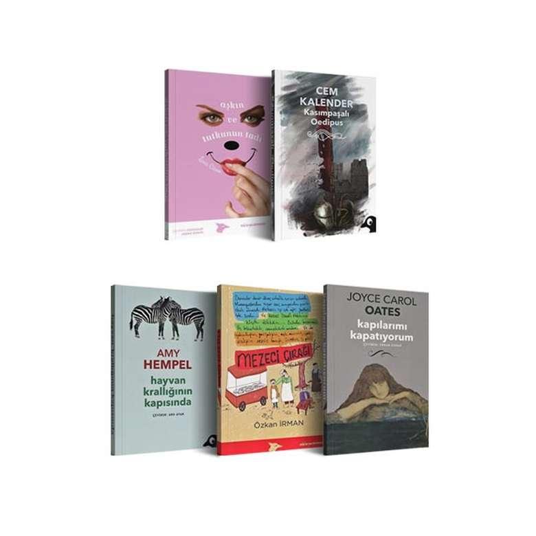 Roman Seti 5 Kitap - Alakarga Yayınları