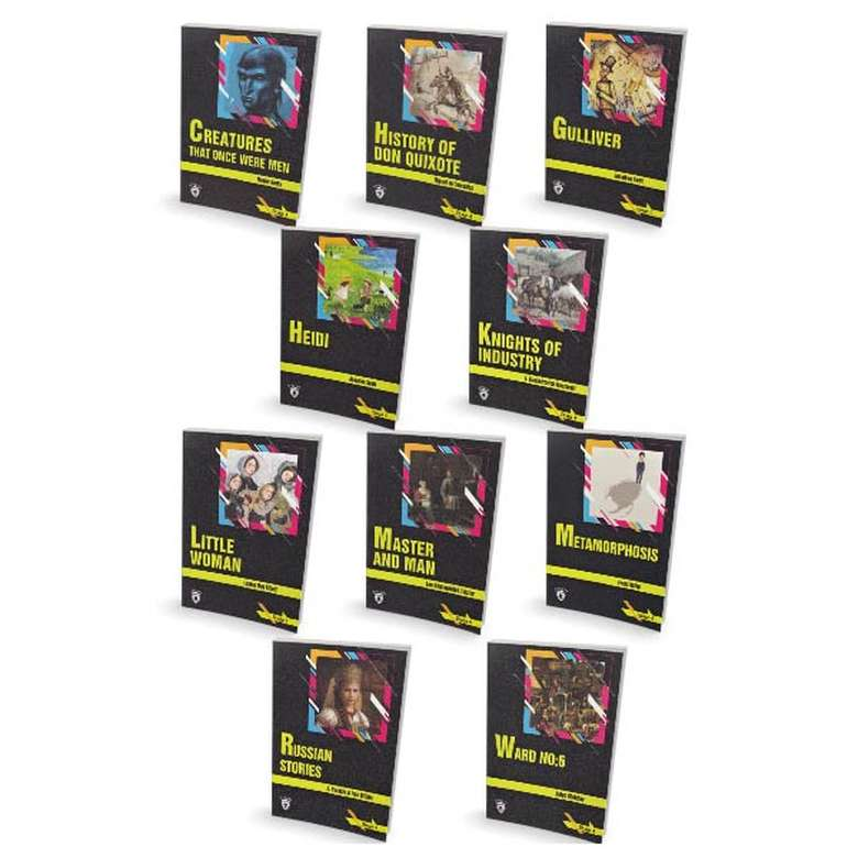 İngilizce Hikaye Seti - Stage 4 - 10 Kit