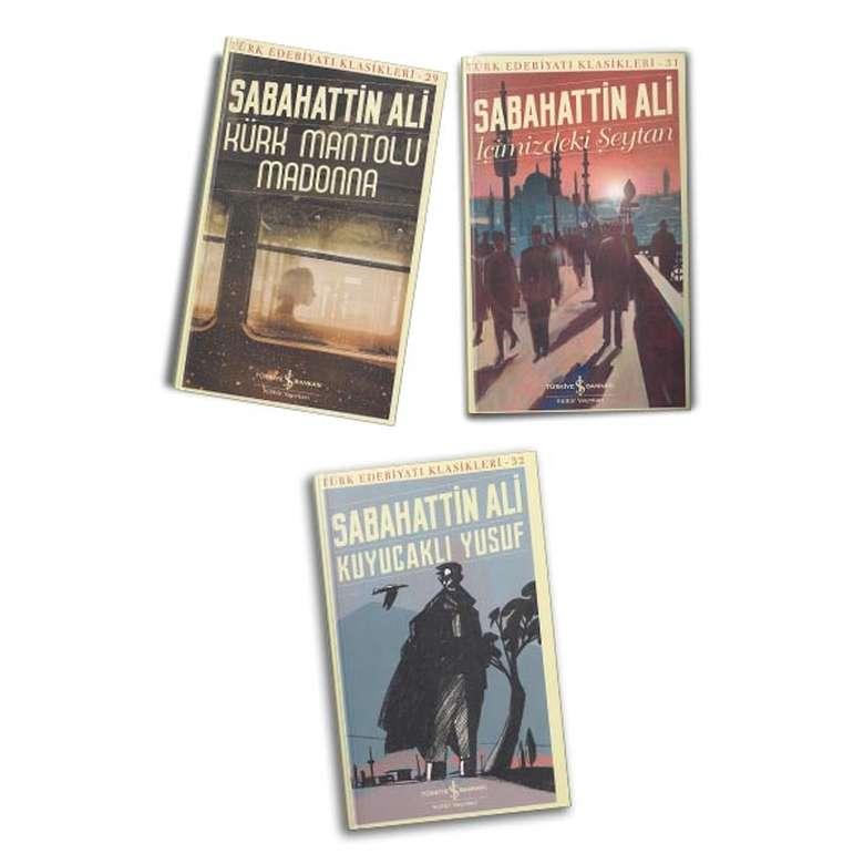 Sabahattin Ali 3 Kitap - İş Bankası Kült