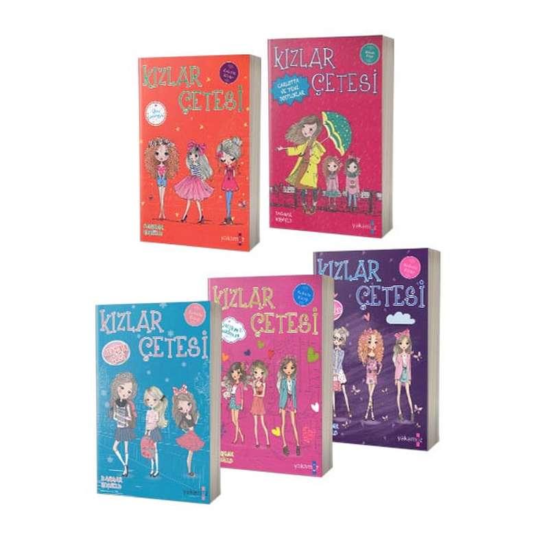 Kızlar Çetesi Seti - 5 Kitap