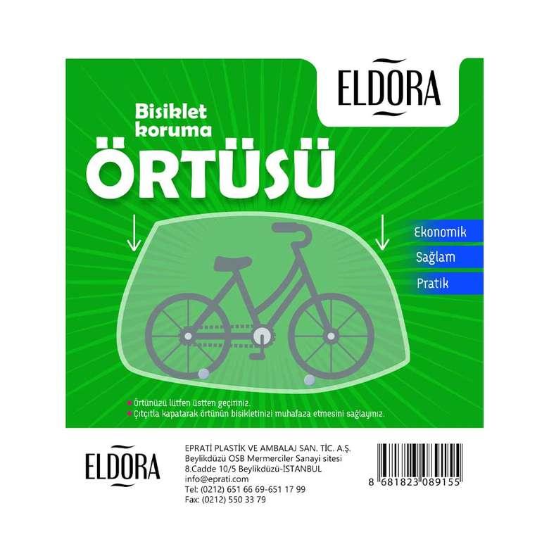 Eldora Çıt Çıtlı Bisiklet Koruma Örtüsü - Büyük