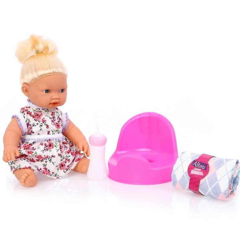 Oyuncak Altını Islatan Bebek - Beyaz