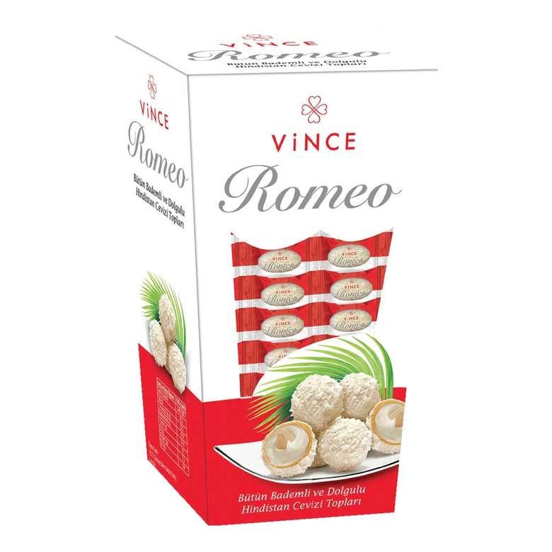 Vince Romeo Çikolata Dolgulu Bütün Bademli 150 G