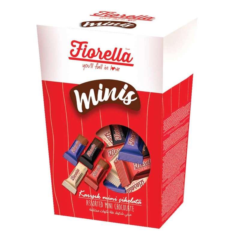 Fiorella Minis Çikolata Beyaz/Sütlü/Bitter/Pirinç Patlaklı 300 G
