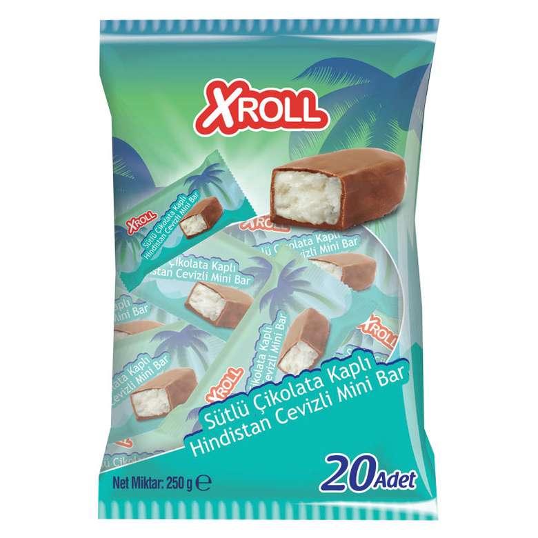 Xroll Çikolatalı Hindistan Cevizli Bar Poşet 250 G