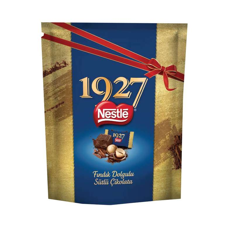 Nestle 1927 Fındık Dolgulu Sütlü Çikolata 159,6 G
