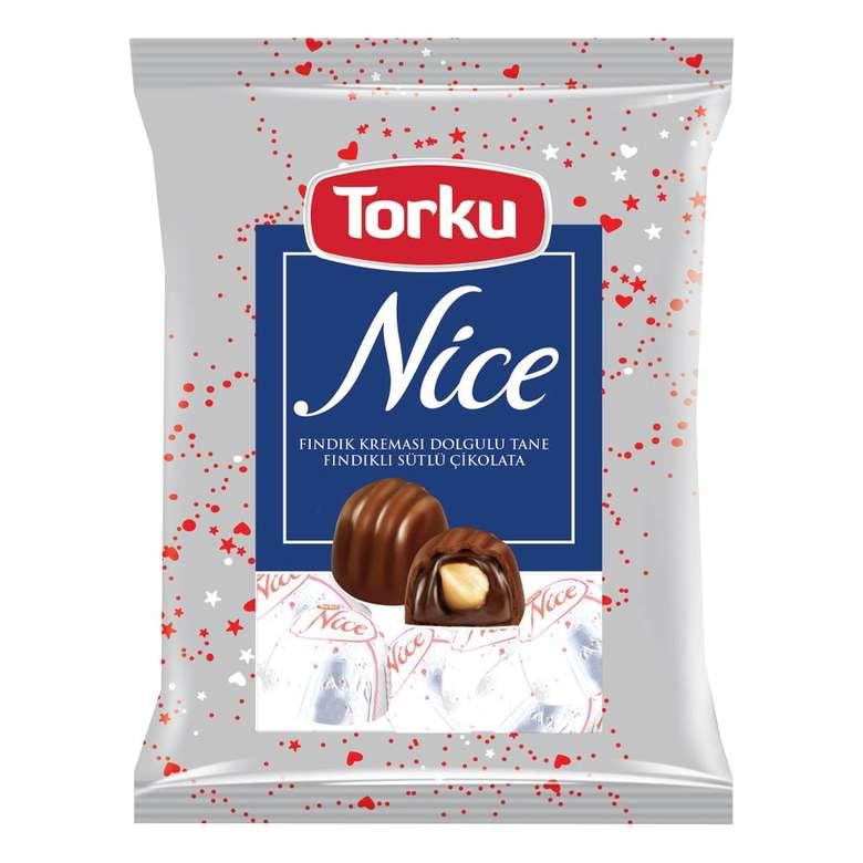 Torku Nice Bütün Fındıklı Sütlü Çikolata  400 G