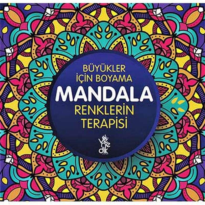 Mandala Kitapları Renklerin Terapisi