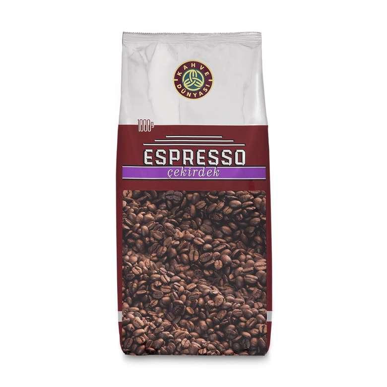 Kahve Dünyası Espresso Çekirdek Kahve  1 Kg