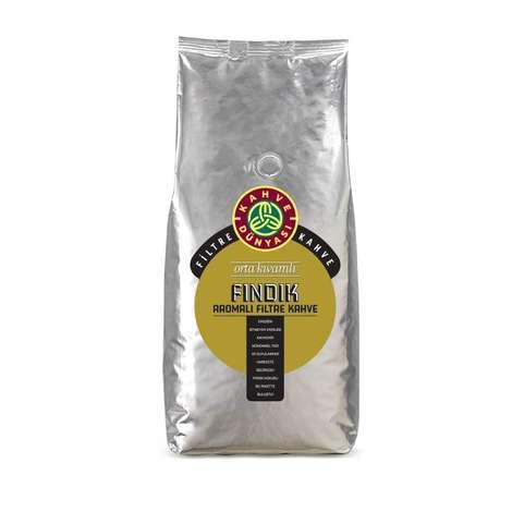 Kahve Dünyası Fındık Aromalı Çekirdek Filtre Kahve 1 Kg