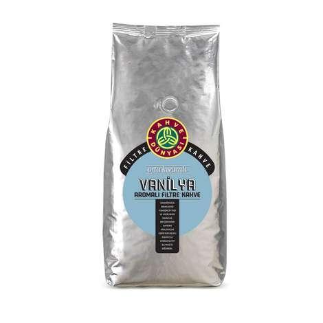 Kahve Dünyası Vanilya Aromalı Filtre Çekirdek Kahve 1 Kg