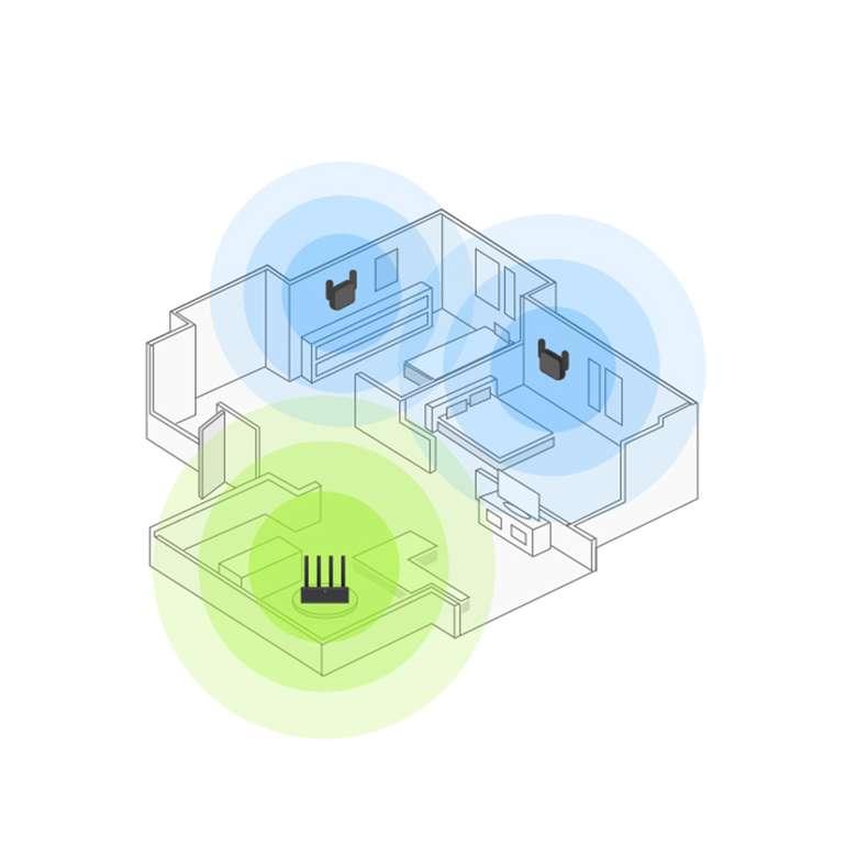 Xiaomi Mİ Wi-Fi Pro Sinyal Yakınlaştırıcı - Güçlendirici 300 Mbps