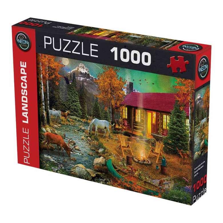 1000 Parça Puzzle - Kırmızı