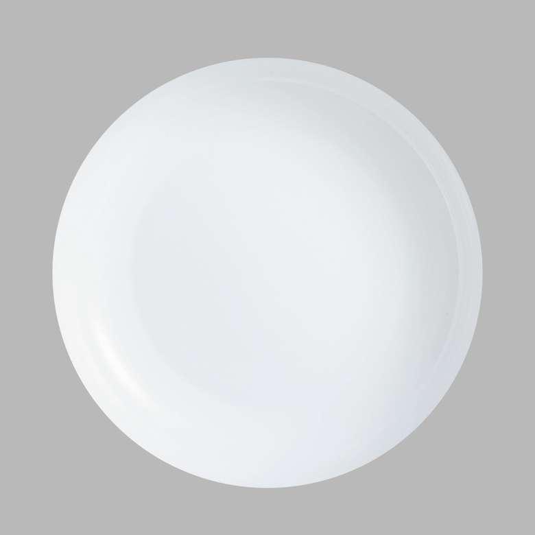 Arcopal Friend Servis Tabağı 25 Cm - Beyaz