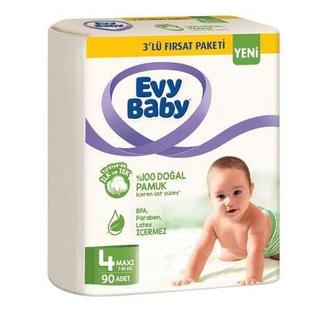 Evy Baby Çocuk Bezi Maxi 90'lı