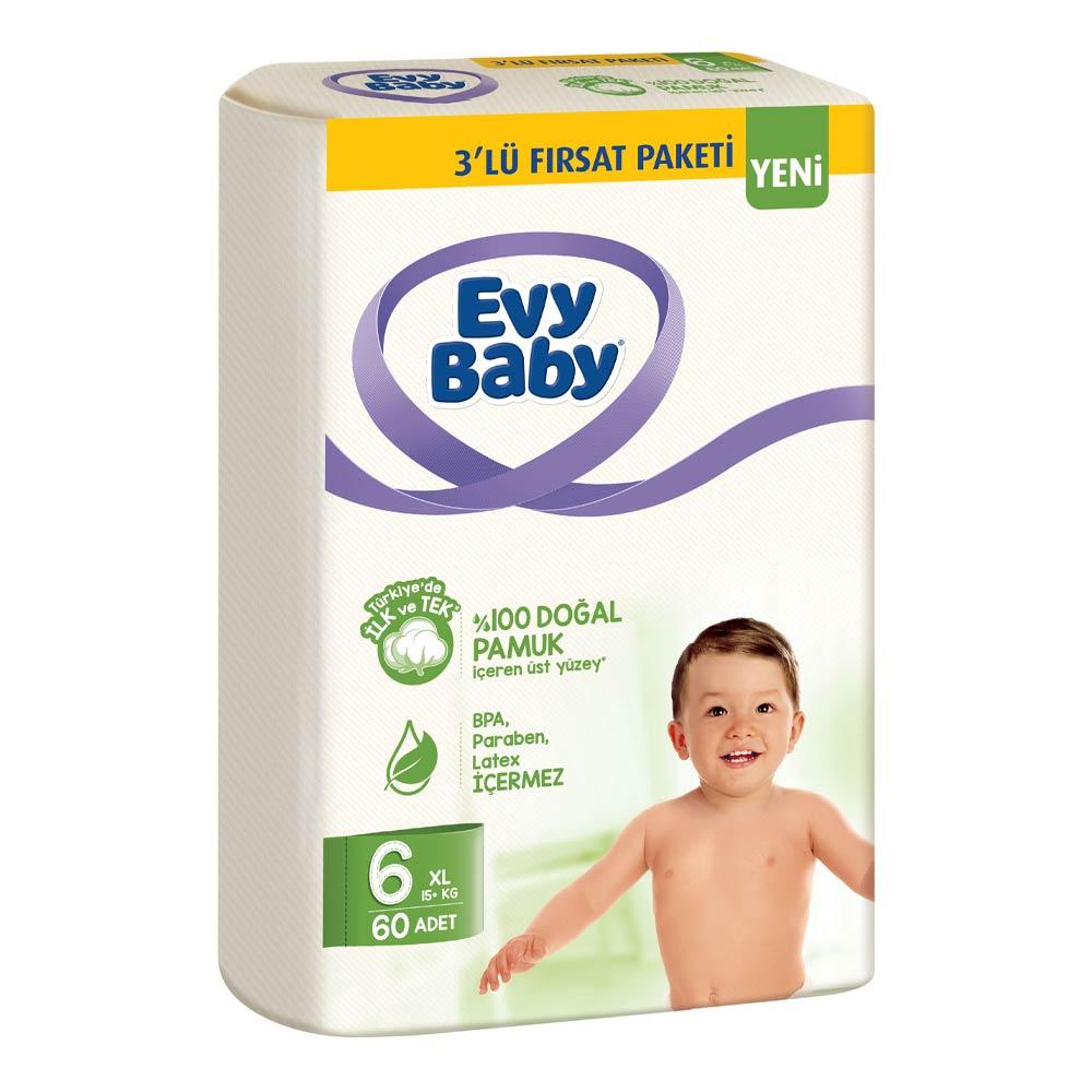 Evy Baby Cocuk Bezi X Large 60 Li A101