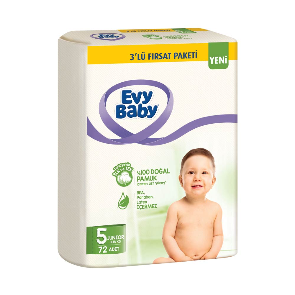 Evy Baby Cocuk Bezi Junior 72 Li A101