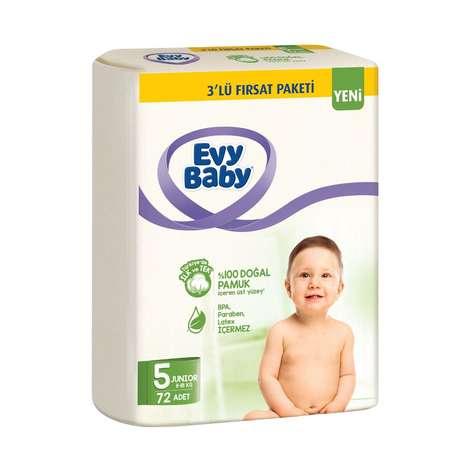 Evy Baby Çocuk Bezi Junior 72'li