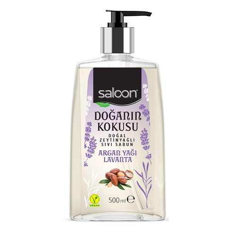 Saloon Sıvı Sabun Argan Yağı&Lavanta 500 Ml