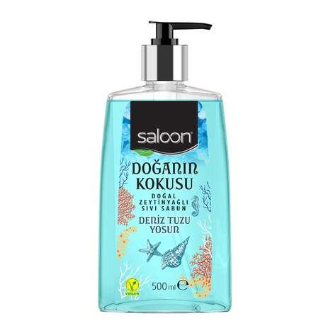 Saloon Sıvı Sabun Deniz Tuzu&Yosun 500 Ml