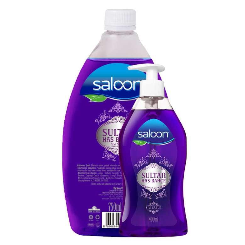 Saloon Sıvı Sabun Has Bahçe 400Ml + 750Ml