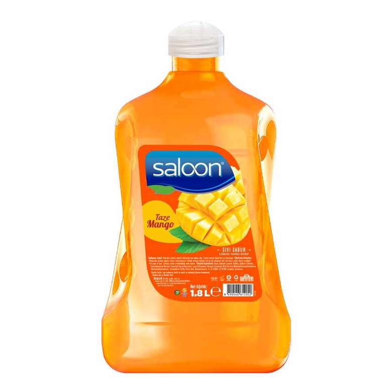 Saloon Sıvı Sabun Taze Mango 1,8 L