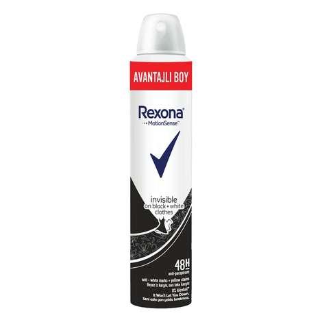 Rexona Black&White Woman Deodorant 200 Ml