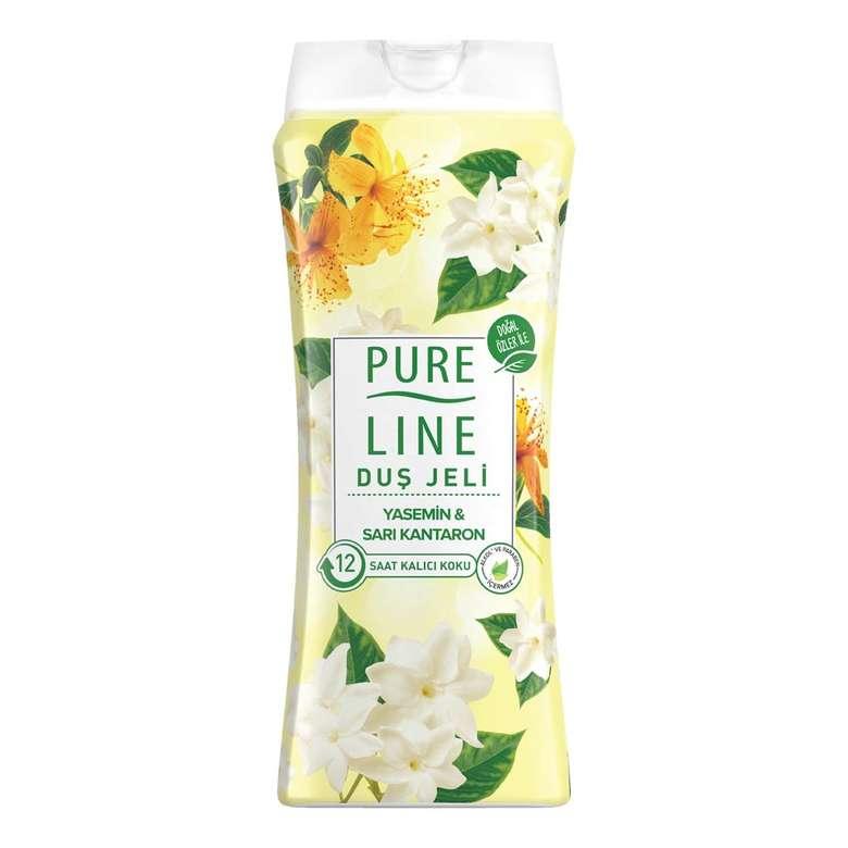 Pure Line Yasemine&Sarı Kantaron Duş Jeli 400ml