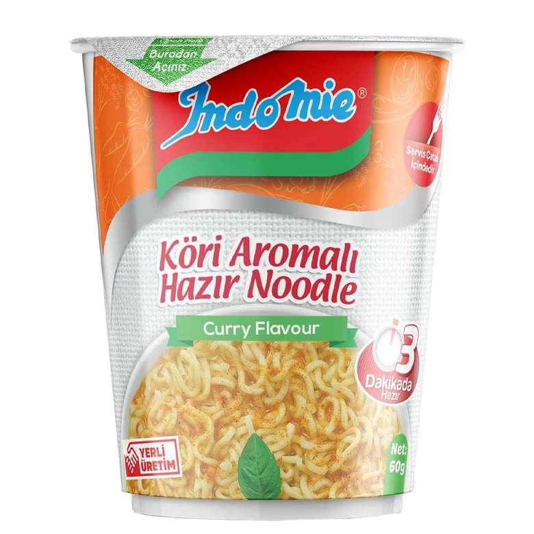 Indomie Noodle Bardak Köri Çeşnili 60 G