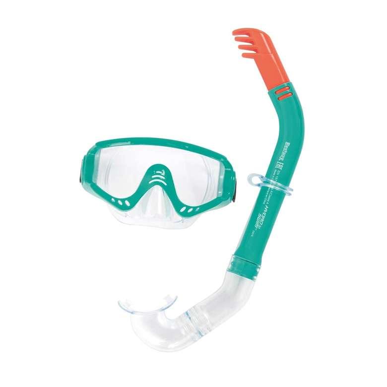 Hydro Swim Secret Bay Şnorkel - Beyaz Mavi