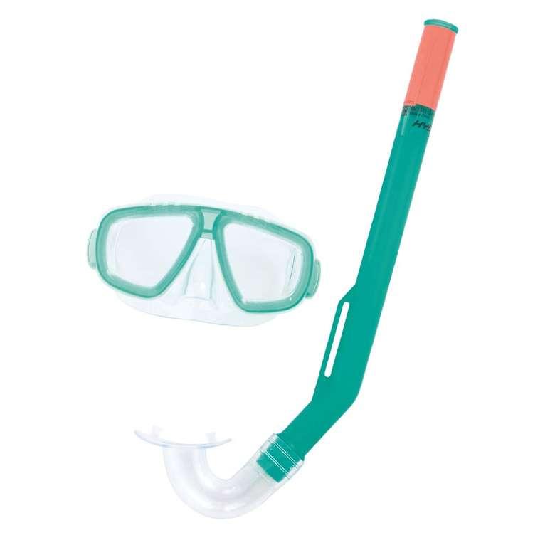 Bestway Maske Şnorkel Set - Yeşil