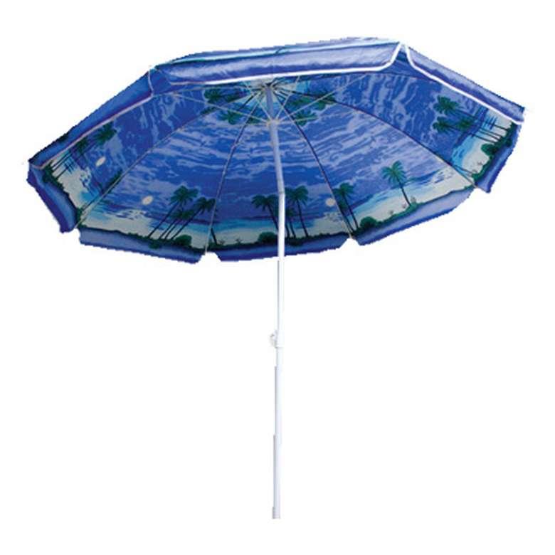 Plaj Şemsiyesi Tilt 1,60 Cm - Mavi