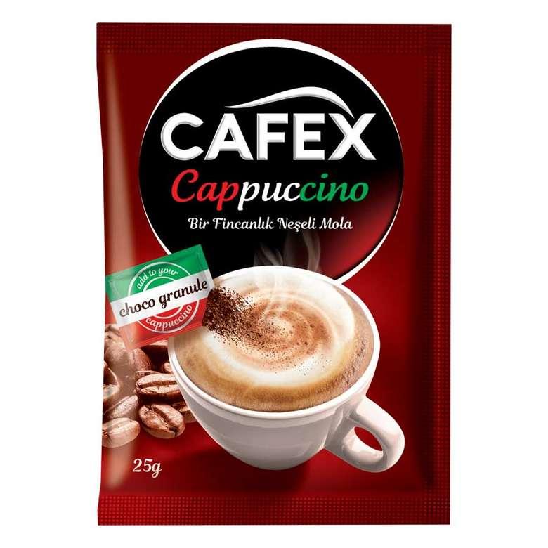 Cafex Çikolata Parçalı Cappuccino 25 G