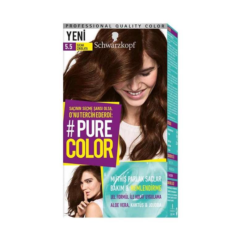 Pure Color 5 5 Sicak Cikolata Sac Boyasi A101