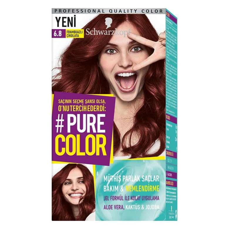 Pure Color 6 8 Frambuazli Cikolata Sac Boyasi A101