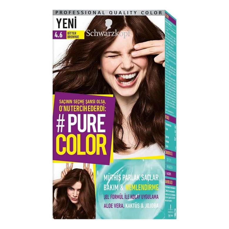 Pure Color 4 6 Bitter Brownie Sac Boyasi A101