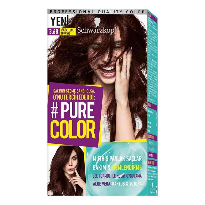 Pure Color 3 68 Bogurtlenli Brownie Sac Boyasi A101